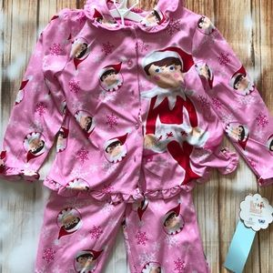 Other - Elf on the shelf 2 piece jammies size 5T nwt